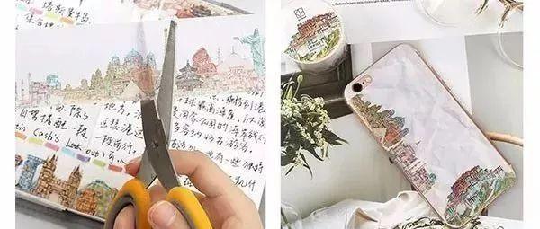 DIY贴纸手机壳